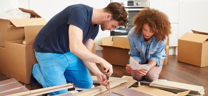 Démontage de vos meubles pendant un déménagement